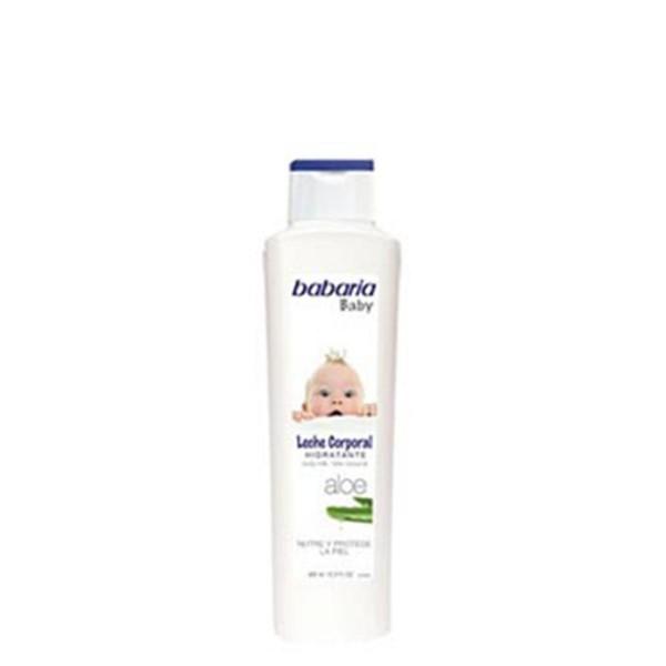 Babaria baby leche corporal hidratante aloe 400ml