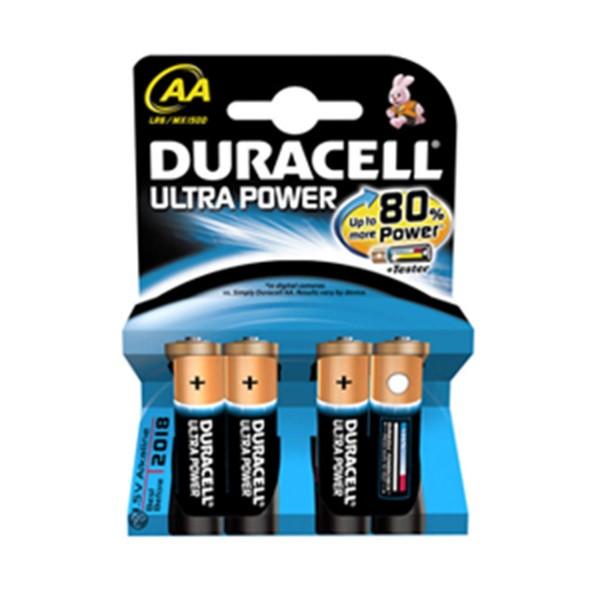 Duracell ultra power aaa pilas 4un.