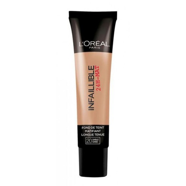 Loreal infaillible mate 24h maquillaje matificante 022