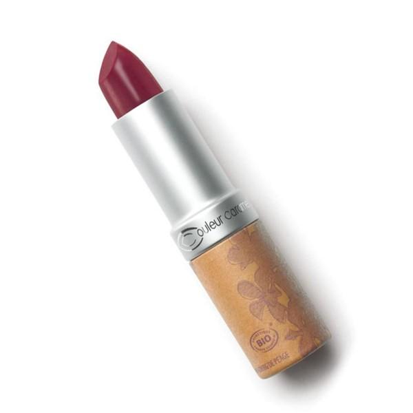 Couleur caramel rouge a levres glossy barra de labios 258 cherry