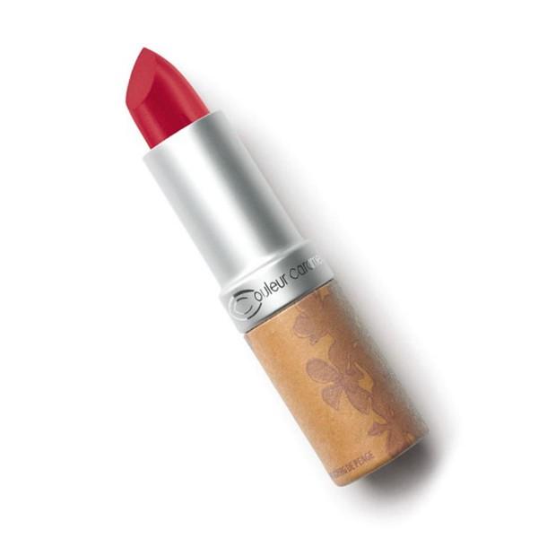Couleur caramel rouge a levres glossy barra de labios 261 gourmand pink