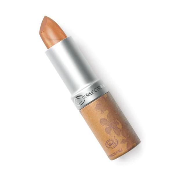 Couleur caramel rouge a levres glossy barra de labios 218 light copper