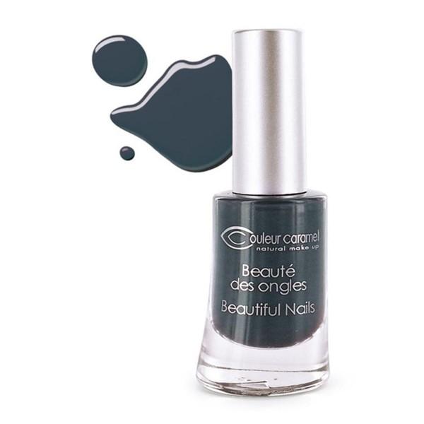Couleur caramel beaute des ongles laca de uñas 61 gris noir