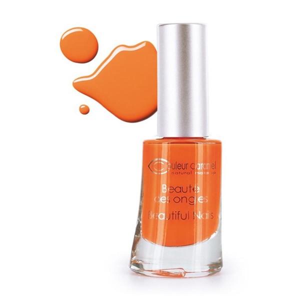 Couleur caramel beaute des ongles laca de uñas 54 orange flash paradis