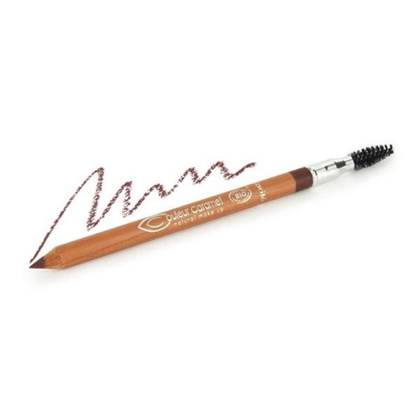 Couleur caramel natural makeup perfilador labial y ojos 120 brown