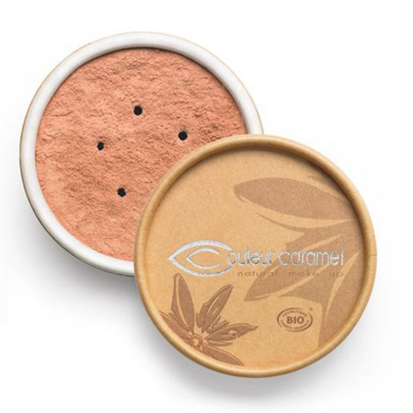Couleur caramel bio mineral foundations polvos 02 pink beige