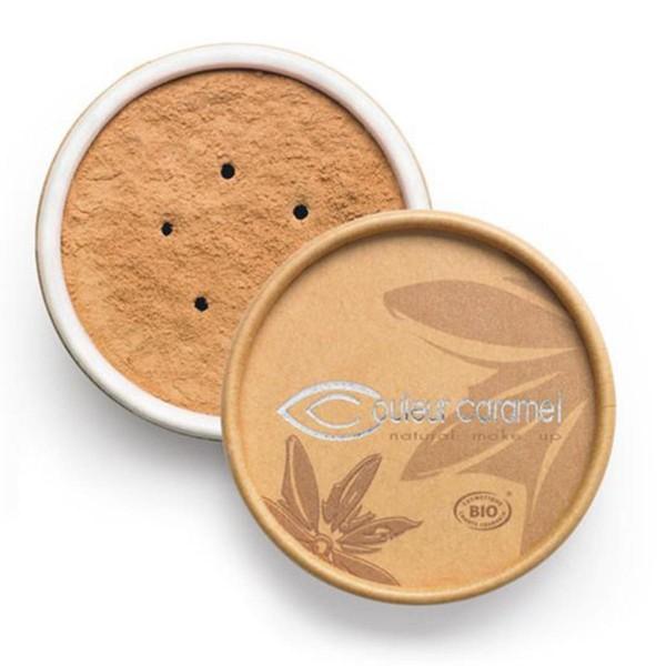 Couleur caramel bio mineral foundations polvos 03 apricot beige