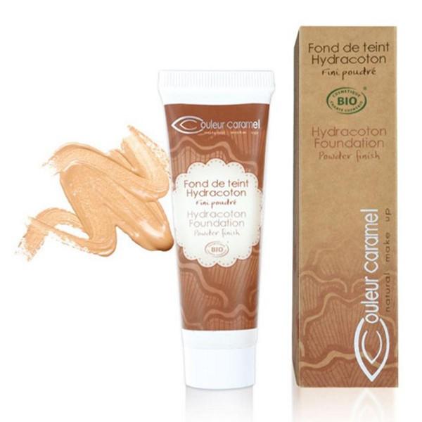 Couleur caramel hydracoton foundation base de maquillaje 13 apricot