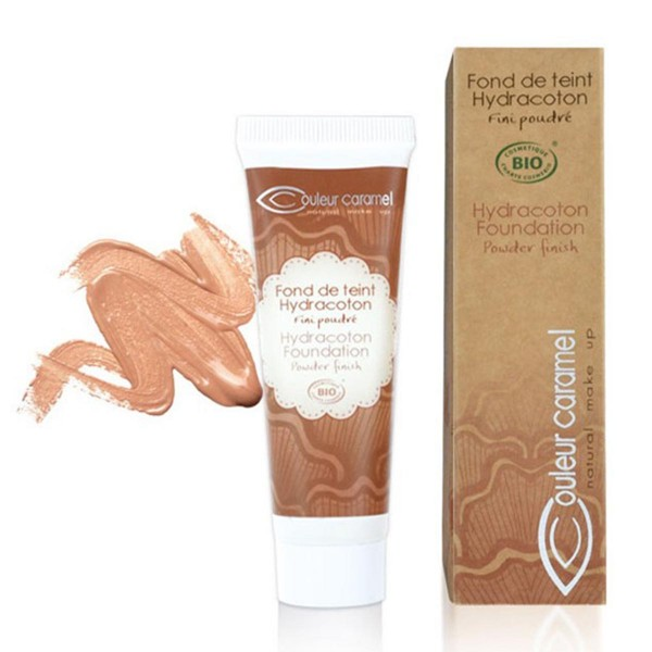Couleur caramel hydracoton foundation base de maquillaje 15 rose petal