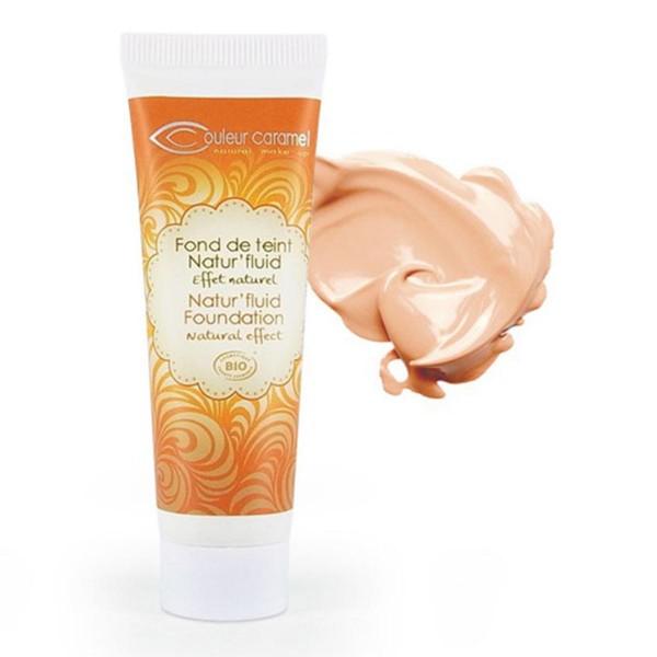Couleur caramel natur'fluid foundation base de maquillaje 12 natural beige