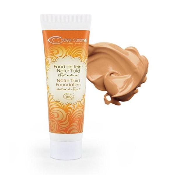 Couleur caramel natur'fluid foundation base de maquillaje 05 tanned beige