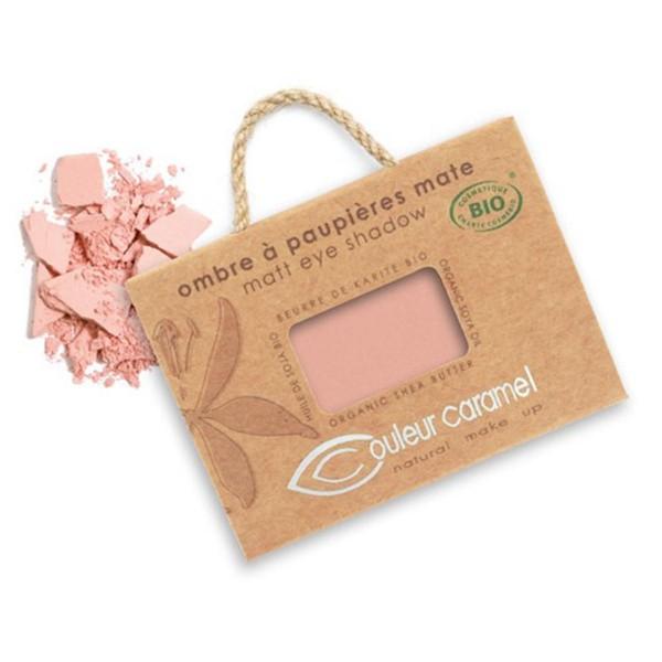 Couleur caramel ombre a paupieres mate sombra de ojos 17 matt pink