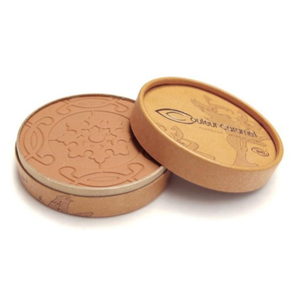 Couleur caramel terre mate compact bronzer matt beige brown