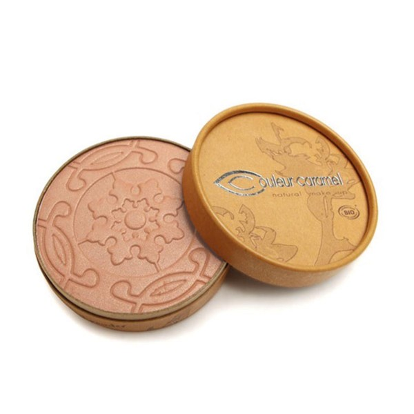 Couleur caramel natural makeup compact bronzer 23 pearly beige brown