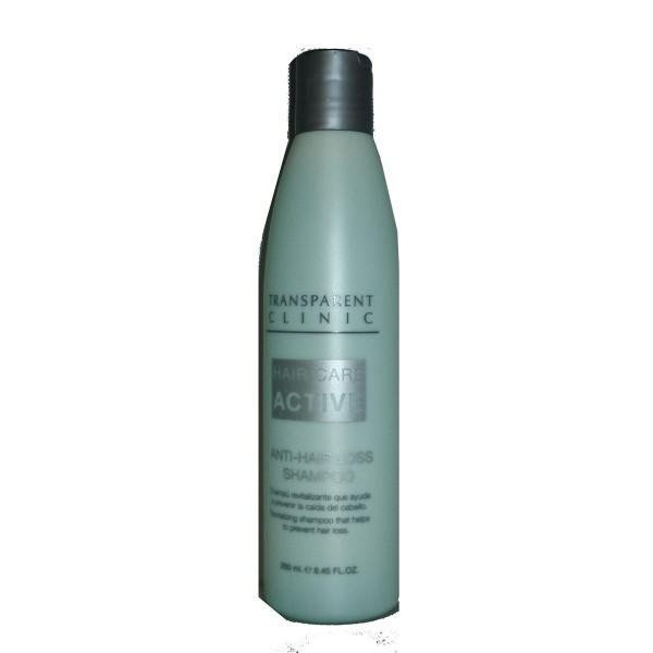 Transparent clinic hair care champu anti-caida 250ml