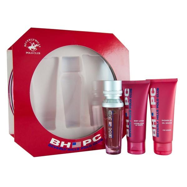 Dyal polo club sport pour femme eau de toilette 50ml vaporizador + gel 75ml + leche corporal 75ml