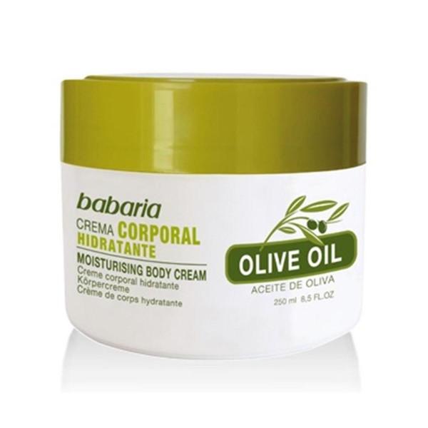 Babaria olive oil crema corporal hidratante 250ml