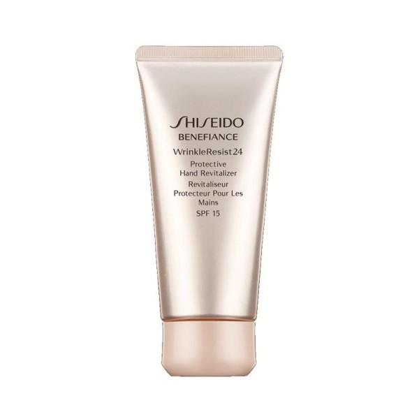 Shiseido benefiance wr24 crema de manos revitalizer spf15 75ml