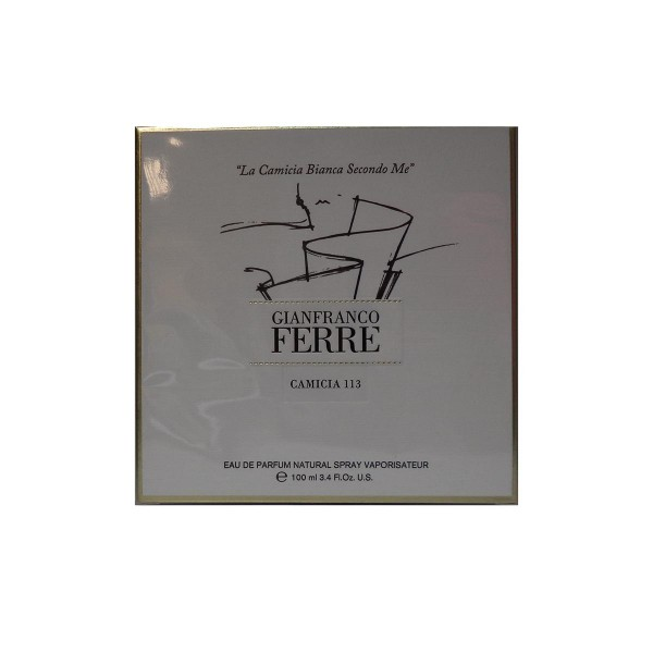 Gianfranco ferre camicia 113 eau de parfum 100ml vaporizador