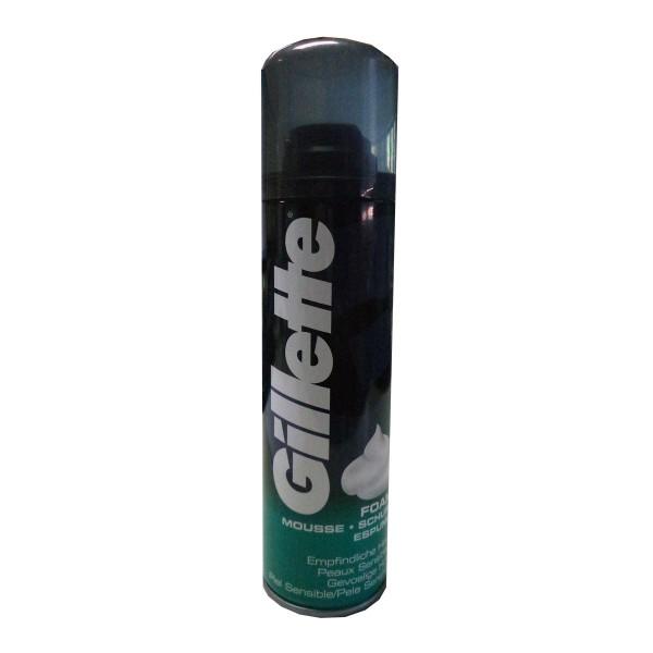 Gillette espuma de afeitar piel sensible 200ml
