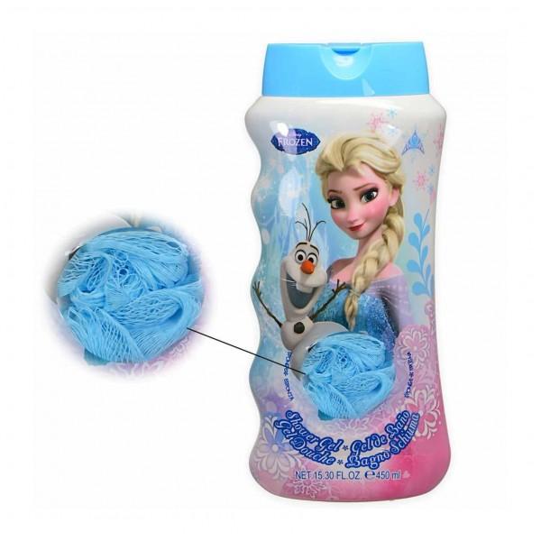 Frozen frozen gel de baño 450ml + esponja 1u