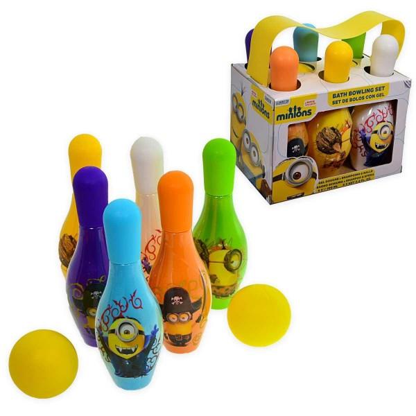 Minions minions gel y champu bolos 100ml + pelotas 2u