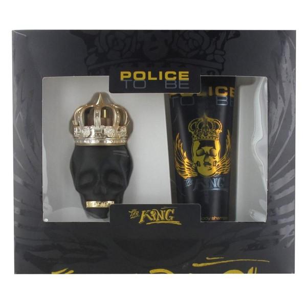 Police to be the king eau de toilette 40ml vaporizador + gel de ducha 100ml