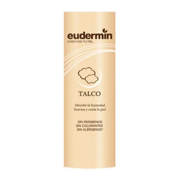 Eudermin sin alergenos talco sin parabenos sin colorantes 200gr