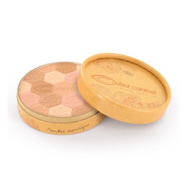 Couleur caramel eclat du teint mosaic polvos 232 fair skin tones