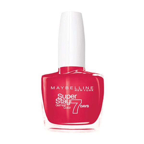 Maybelline superstay 7d laca de uñas 490 rose salsa