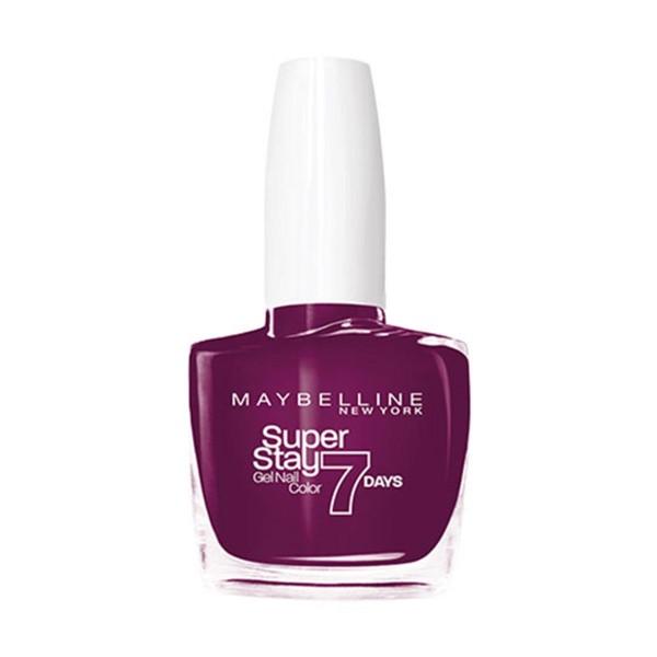 Maybelline superstay 7d laca de uñas 270 ever burgundy