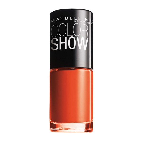 Maybelline color show laca de uñas 341 orange attack