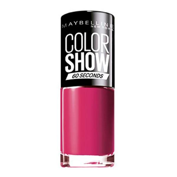 Maybelline color show laca de uñas 014 show time pink