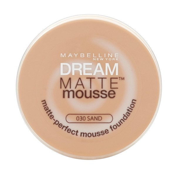 Maybelline dream mat base espuma 30 sand