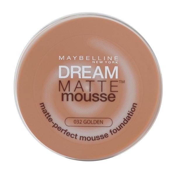 Maybelline dream mat base espuma 32 golden