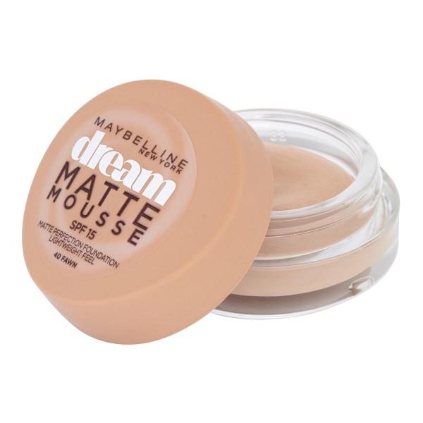 Maybelline dream mat base espuma 40 fawn