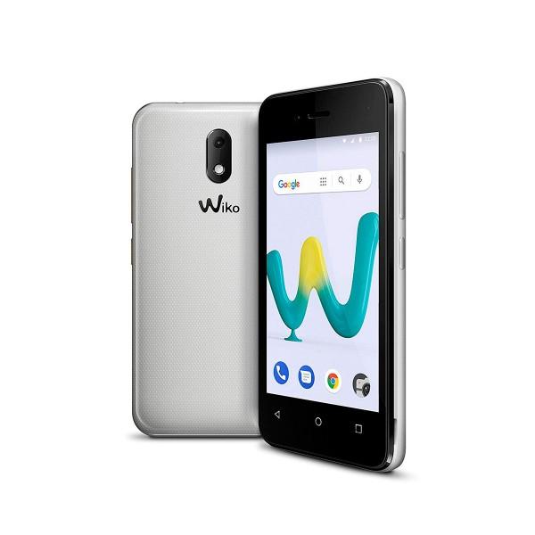 Wiko sunny3 mini blanco móvil 3g dual sim 4'' tft wvga/4core/8gb/512mb ram/2mp/vga