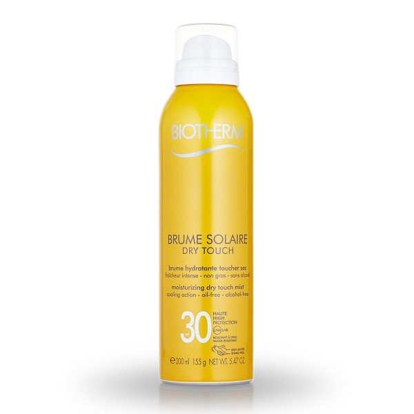 Biotherm brume solaire spray dry touch oil free spf30 150ml
