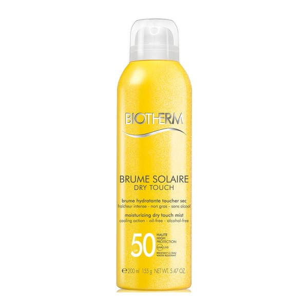 Biotherm brume solaire spray dry touch oil free spf50 150ml