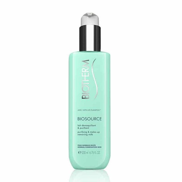 Biotherm biosource leche desmaquillante piel normal y mixta 200ml