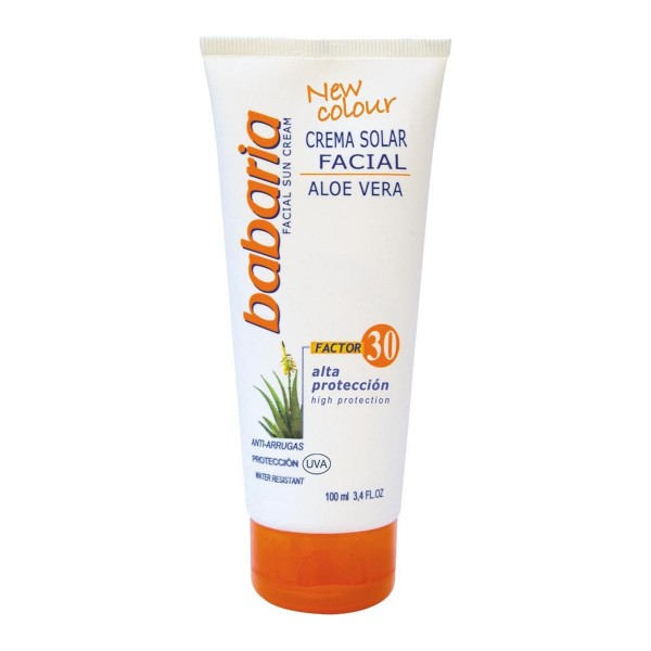 Babaria aloe vera crema solar anti-arrugas spf30 100ml
