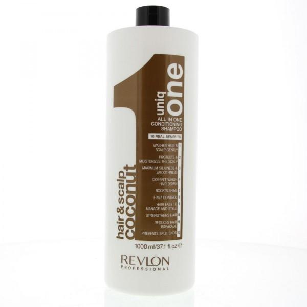 Revlon uniqone hair&scalp champu y acondicionador coconut 1000ml