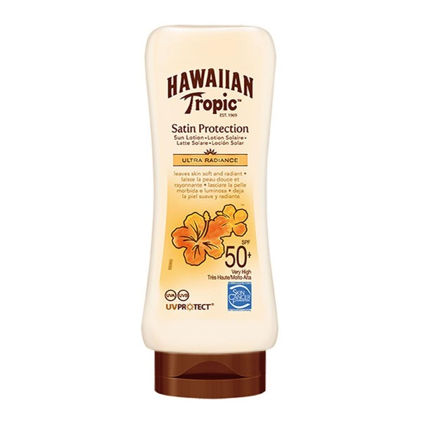 Hawaiian tropic satin protection ultra radiance crema spf50+ 180ml