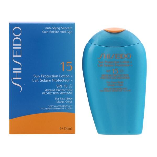 Shiseido anti-aging sun care sun protection locion spf15 150ml