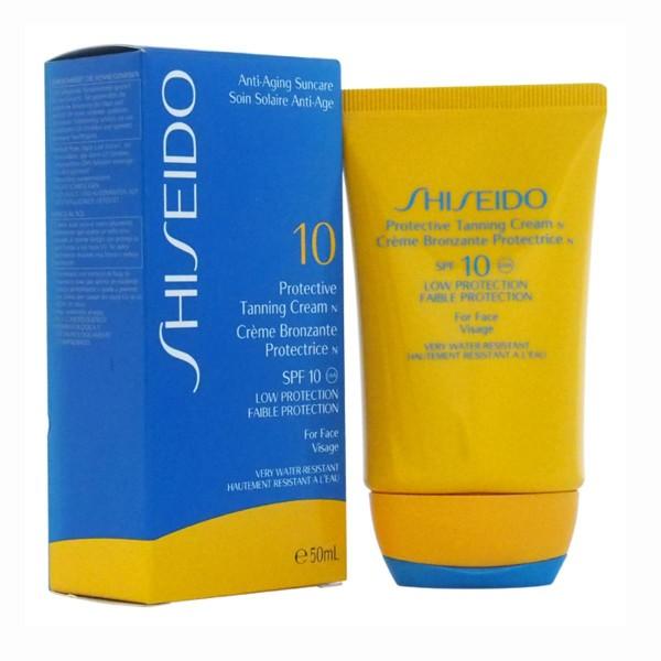 Shiseido anti-aging sun care protective tanning crema spf10 50ml