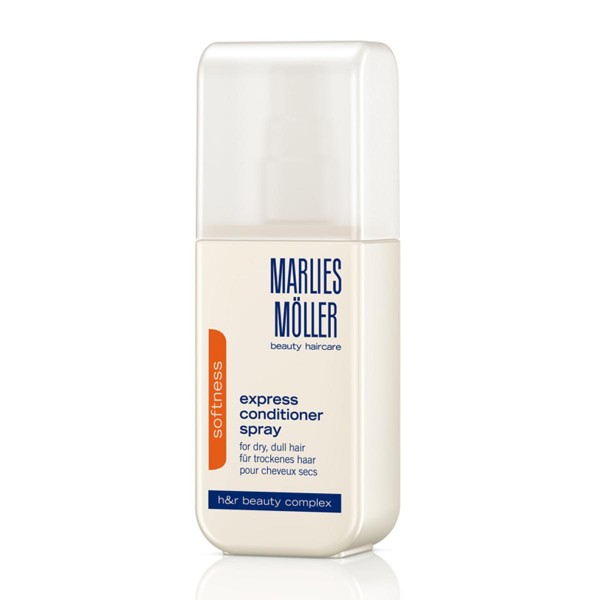 Marlies moller softness spray acondicionador cabello seco express 125ml vaporizador