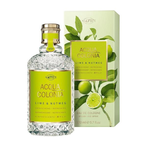 4711 acqua colonia eau de cologne lime & nutmeg 170ml vaporizador