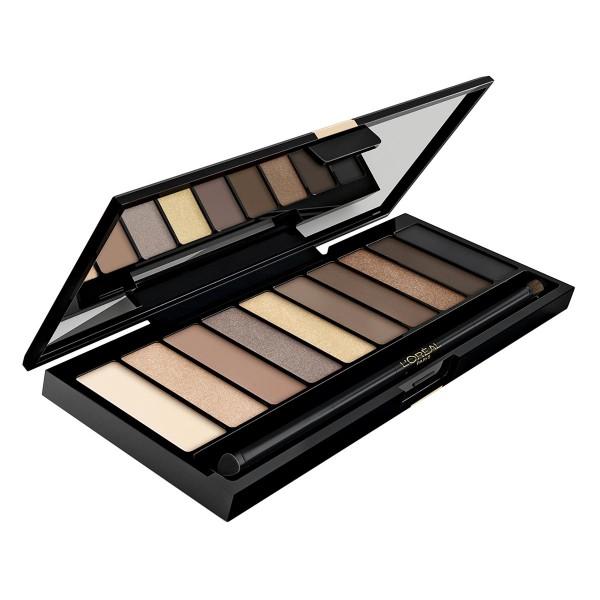 Loreal la palette nude sombra de ojos 001