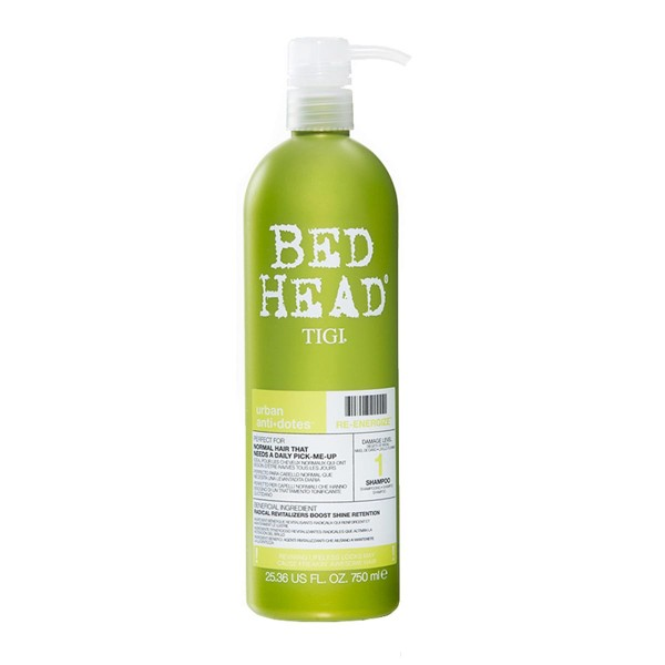 Tigi bed head urban anti-dotes re-energize champu 750ml