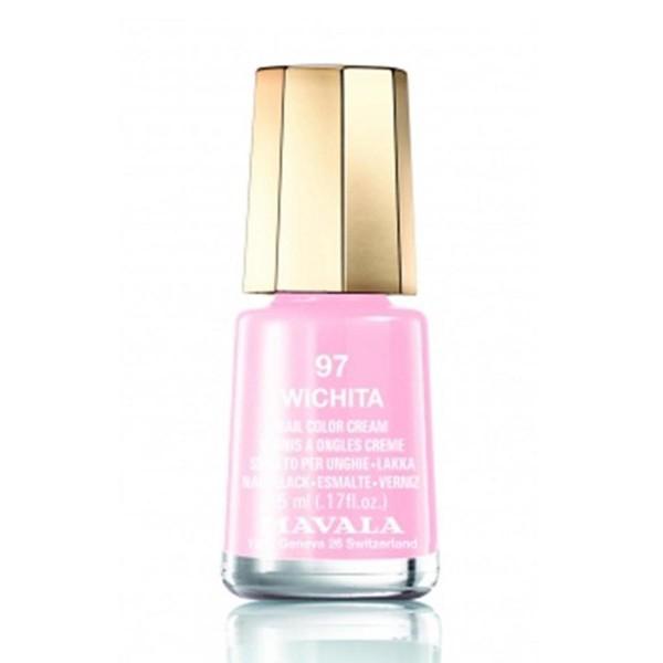 Mavala nail manicura efecto gel esmalte wichita 10ml + top coat gel 10ml